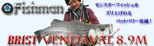 Fishman BRIST VENDAVAL 8.9M(ブリスト ベンダバール 8.9M)