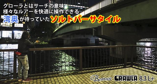 Fishman Beams CRAWLA 8.3L+(ビームス クローラ8.3エルプラス)