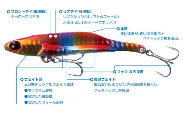 バディーワークス シャロースター(Shallow STAR)90mm 25g